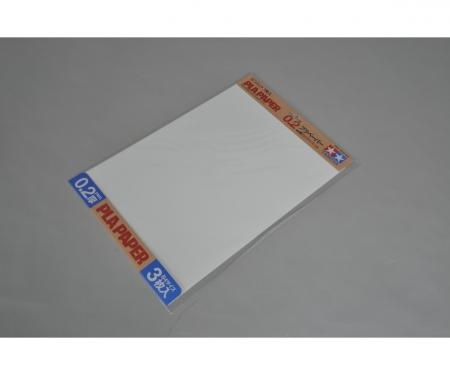 tamiya Kst-Platte 0,2mm (3) weiß 257x364mm