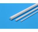 Rohrprofil 3mm (6) 400mm weiß Kst.