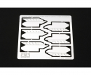 Fotoätz-Sägeblatt 0,1mm (2x3) reißen