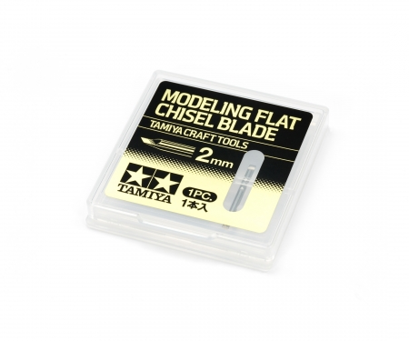 tamiya Modeling Flat Chisel Blade 2mm