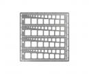 tamiya Modeling Template Square 1-10