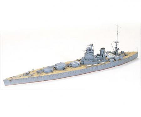 tamiya 1:700 Brit. Rodney Battleship WL