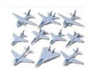 1:350 US Navy Flugzeug-Set I (10)