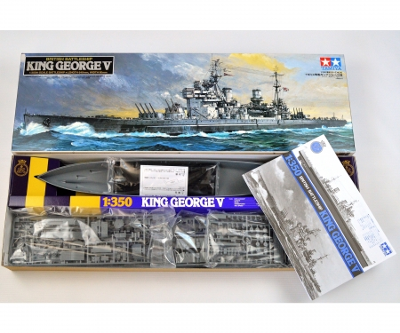 1:350 WWII Brit.Battleship King George V