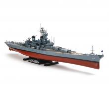 tamiya 1:350 US Kampfschiff New Jersey BB-62