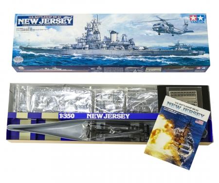 1:350 US Battleship New Jersey BB-62