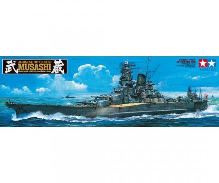 tamiya 1:350 Musashi 2013 Jap. Schlachtschiff