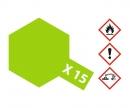 tamiya X-15 Light Green Gloss 23ml
