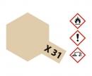 tamiya X-31 Titanium Gold Gloss 23ml