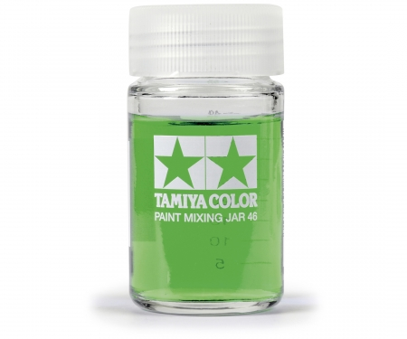 tamiya Tamiya Paint Mixing Jar 46ml rou.w/Meas.
