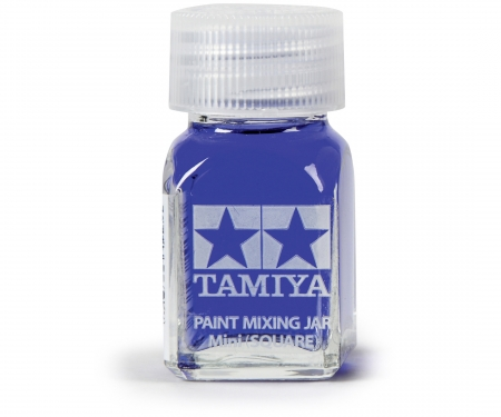 tamiya Tamiya Paint Mixing Jar Mini 10ml square