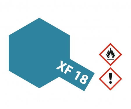 XF-18 Flat Medium Blue 23ml