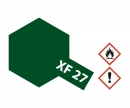 tamiya XF-27 Flat Black Green 23ml