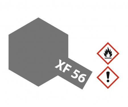 tamiya XF-56 Flat Metallic Grey 23ml