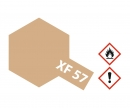 tamiya XF-57 Flat Buff (Yellow-Brown) 23ml