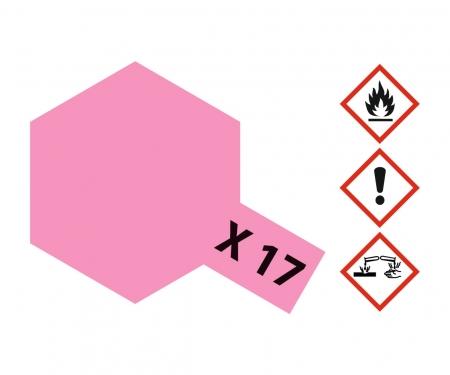 tamiya X-17 Pink Gloss 10ml Acrylic (VE6)