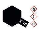 tamiya X-18 Semi Gloss Black 10ml