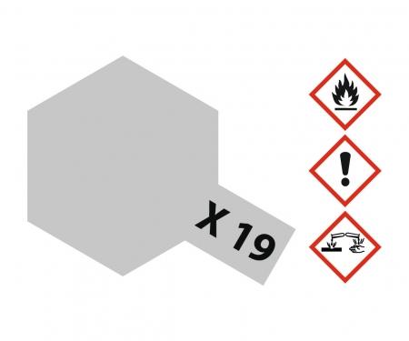 tamiya X-19 Smoke glänzend 10ml