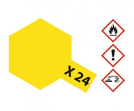 tamiya X-24 Clear Yellow Gloss 10ml