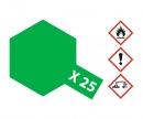tamiya X-25 Clear Green Gloss 10ml