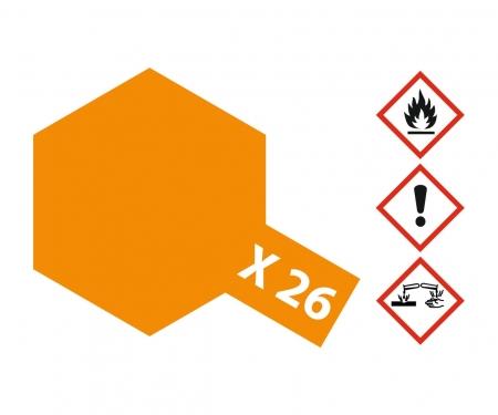 tamiya X-26 Clear Orange Gloss 10ml