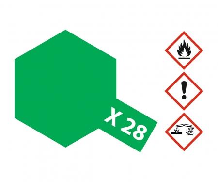tamiya X-28 Park Green Gloss 10ml