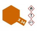 tamiya X-34 Metallic Brown Gloss 10ml