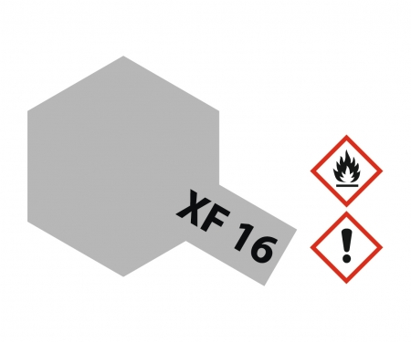 tamiya XF-16 Flat Aluminium 10ml