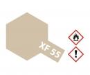 tamiya XF-55 Flat Deck Tan (Light Brown) 10ml