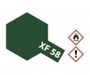 tamiya XF-58 Flat Olive Green 10ml