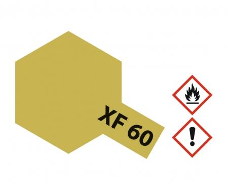 tamiya XF-60 Flat Dark Yellow 10ml
