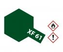 tamiya XF-61 Flat Dark Green 10ml