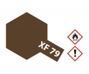 tamiya XF-79 Flat Lino Deck Brown 10ml (VE6)