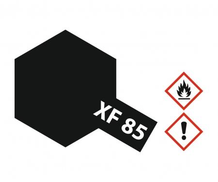 tamiya XF-85 Flat Rubber black 10ml Acrylic (6)