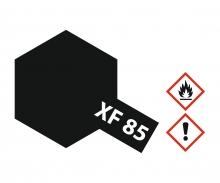 tamiya XF-85 Gummi-schwarz matt 10ml Acryl
