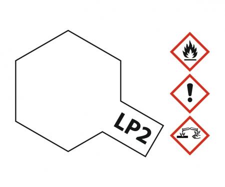 tamiya LP-2 Weiss glänzend 10ml (VE6)