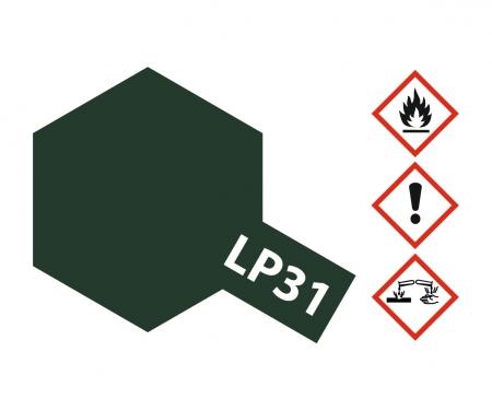 LP-31 Dkl. Grün 2 matt (IJN) 10ml (VE6)
