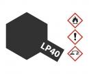 tamiya LP-40 Metallic-Schwarz glzd. 10ml (VE6)