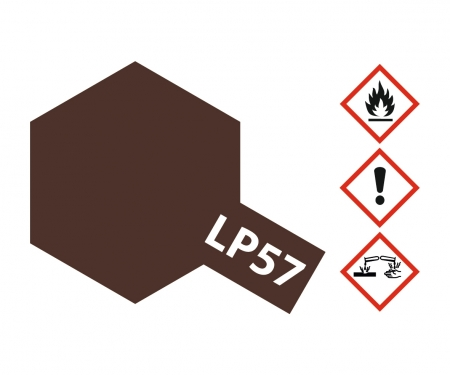 tamiya LP-57 Red Brown 2 Flat 10ml