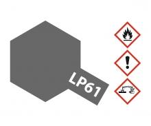 LP-61 Metallic Grau matt 10ml (VE6)