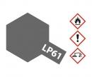 tamiya LP-61 Metallic Grau matt 10ml (VE6)