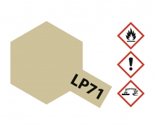LP-71 Champagner Gold glzd. 10ml (VE6)