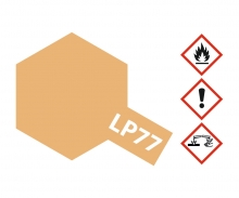 tamiya LP-77 Hellbraun matt DAK42 10ml (VE6)