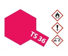 tamiya TS-36 Neon-Rot glänzend 100ml