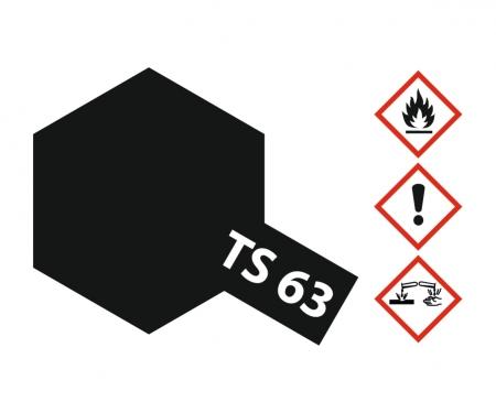 tamiya TS-63 NATO Black Flat 100ml