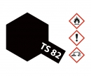 TS-82 Black Rubber Flat 100ml