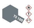 tamiya TS-100 Semi Gloss Bright Gun Metal 100ml