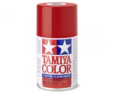 tamiya PS-2 Red Polycarbonate 100ml