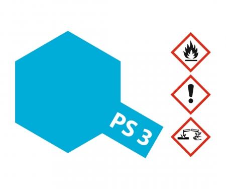 tamiya PS-3 Light Blue Polycarbonate 100ml