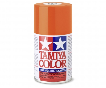 tamiya PS-7 Orange Polycarbonate 100ml